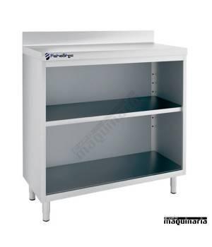 Mesa estantería IFFEST100 de acero inox.