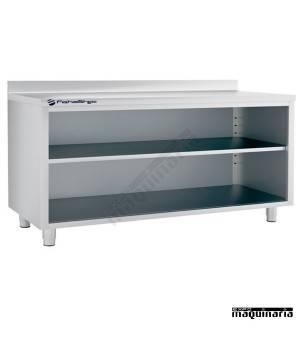 Mesa estantería IFFEST200 de acero inox.