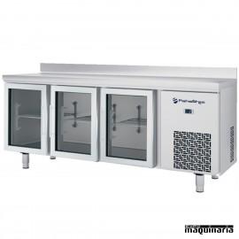 Mesa refrigerada P.CRISTAL (196 x 60 cm) IFFM603PCR