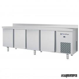 Mesa de congelación 4 puertas Serie 600 IFFM604PN