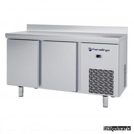 Frente mostrador alto (146,8 x 60 cm) IFFF602P de acero inox.