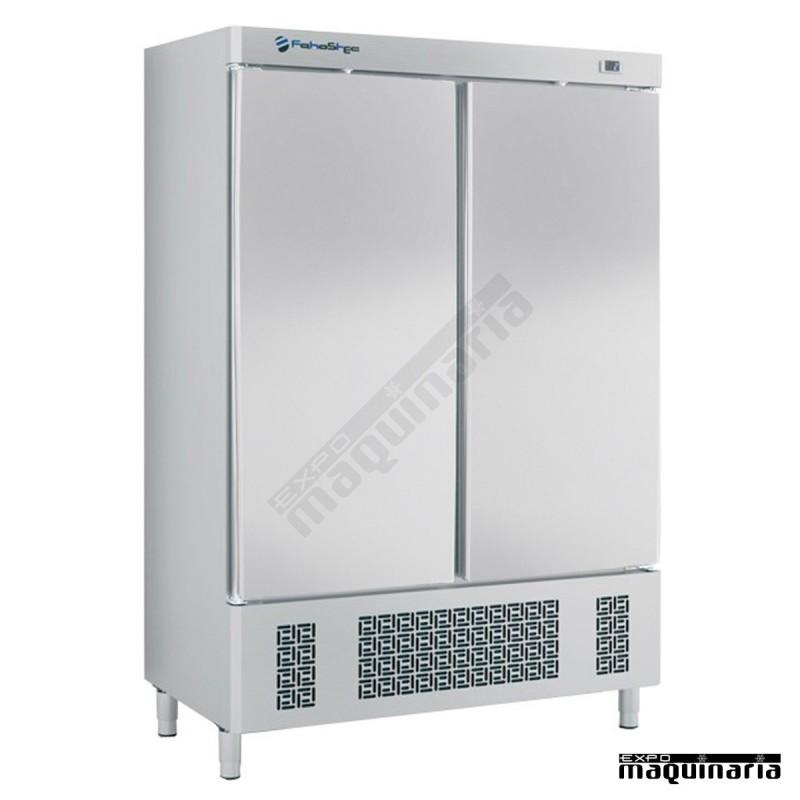 Armario nevera refrigerado iffa1002 de acero inoxidable 2 - Nevera dos puertas verticales ...