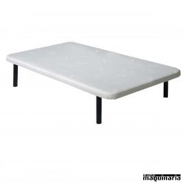 Base tapizada como colchón 80 cm colchón individual