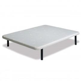 Base 120 cm tapizada igual que colchón, base individual