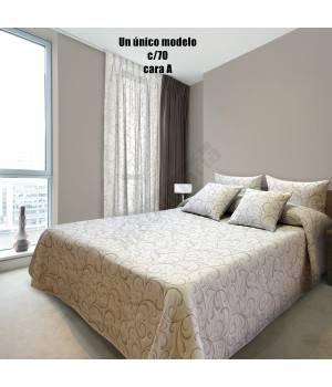 Colcha de capa reversible brot hosteler a - Ropa de cama para hosteleria ...