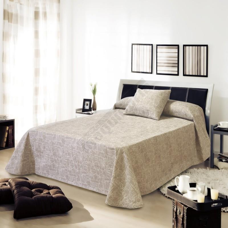 Colcha de capa reversible urban hosteler a - Ropa de cama para hosteleria ...