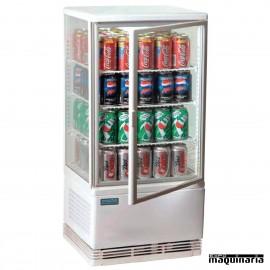 Expositor refrigerado blanco 68L NIG619