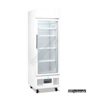 Vitrina refrigeradora vertical puerta cristal 218litros NIDM075