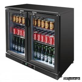 Botellero NIDP287 de 2 puertas para 168 botellas de 330 ml