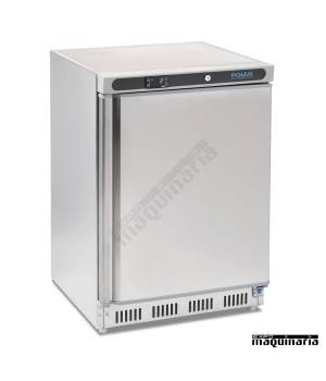 Refrigerador bajo mostrador acero inox NICD080