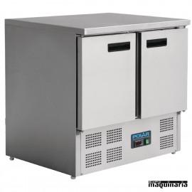 Mostrador frigorífico con 2 puertas NIU636