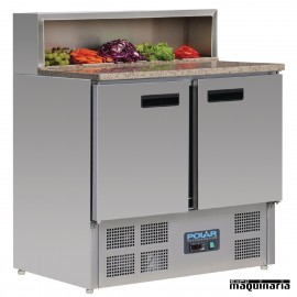 Mostrador preparación de pizza 288 litros NIG603