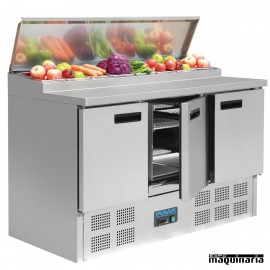 Mostrador preparación de pizza 390 litros NIG605