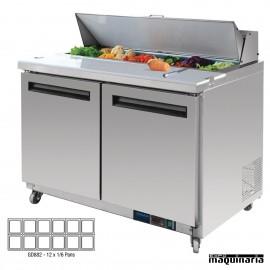 Mostrador preparación ensaladas 405 litros NIGD882
