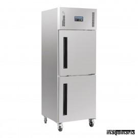 Armario frigorífico 2 puertas 600 litros NICW193