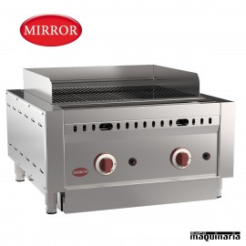 Barbacoa a gas MIRROR IRON-STONE2