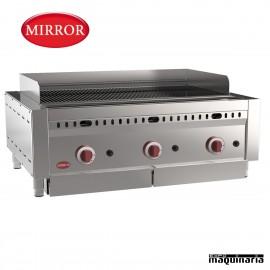 Barbacoa a gas MIRROR IRON-STONE3