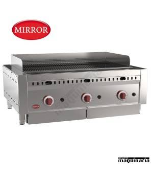 Barbacoa a gas MIRROR IRON-STONE3