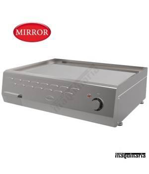 Plancha electrica MIRROR SNACK-ME60 CROMO DURO