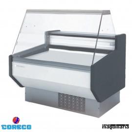 Vitrina expositora frío ventilado cristal recto COCVED810R (105x80)