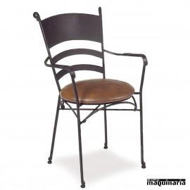 Sillón forja asiento skay IM361