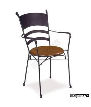 """Sillón de bar forja asiento """"solo"""" IM361S"""