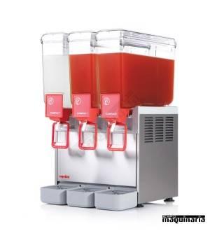 Dispensador de bebidas 3x8 litros DFCOMPACT83