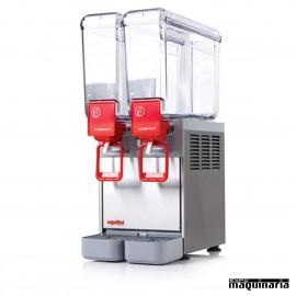 Dispensador de bebidas 2x8 litros DFCOMPACT82