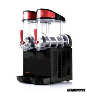 Máquina granizadora 2x10 litros DFMT2BNeg