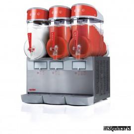 Máquina granizadora 3x10 litros DFMT3B