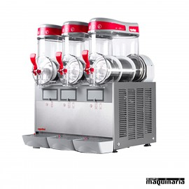 Máquina granizadora 6+6+6 litros DFMTMINI3