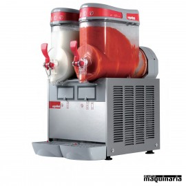 Máquina granizadora 6+6 litros DFMTMINI2