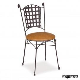 Silla de forja asiento skay IM169