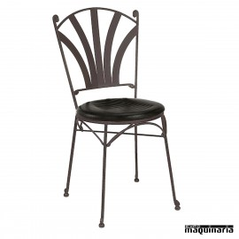 Silla de forja asiento integral IM170I