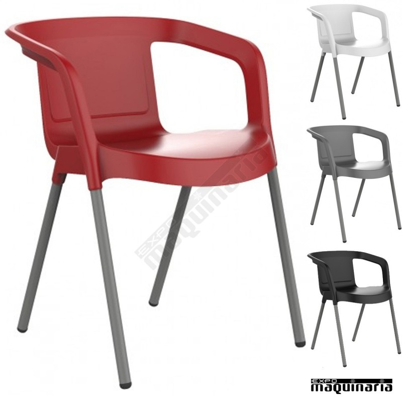 Sillas plastico baratas elegant packs de sillas online for Sillas de plastico baratas