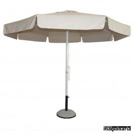 Parasol terraza redondo o cuadrado y veladores for Alcampo sombrillas terraza