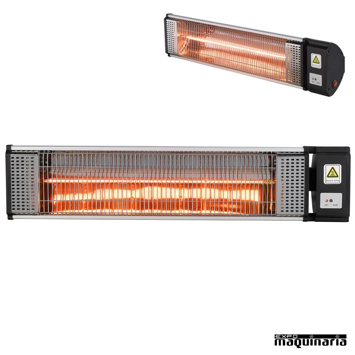 Calefactor halogeno de onda corta 9R300 con radiación infrarroja