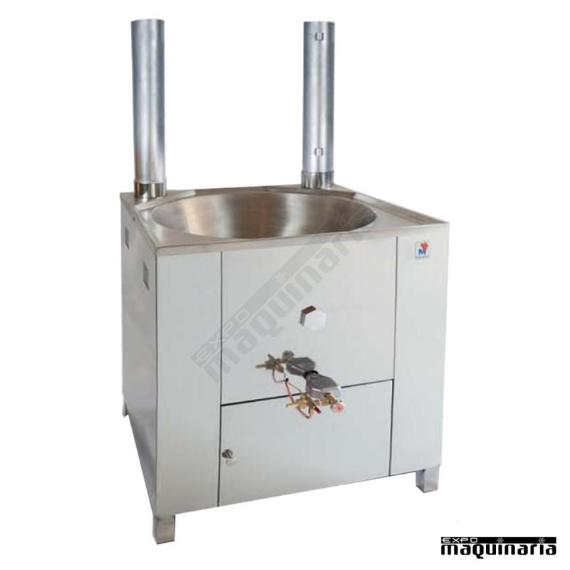 Fog n churros acero inox a gas profesional 14 litros mafg70ml for Fogones industriales a gas
