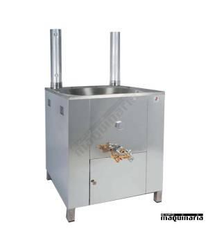 Fogón churros acero inox gas profesional 22 litros quemador expres