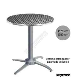 Mesa aluminio con estabilizador 3R504ALR