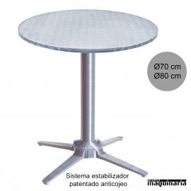 Mesa aluminio con estabilizador 3R505ALR
