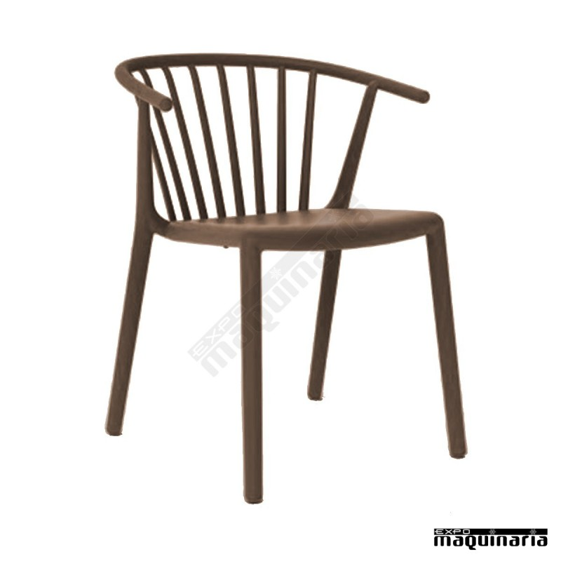 silla terraza rewoody interior y exterior de polipropileno