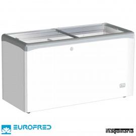 Arcón Congelador 447L.P cristal corredera 150.2x65.1x85.2