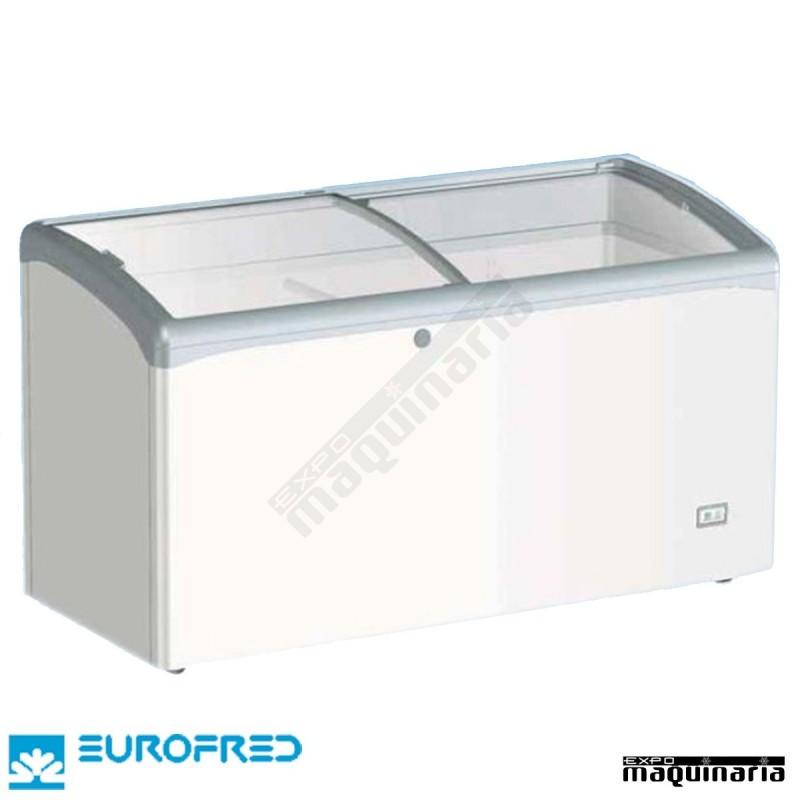 Arcon congelador de tapa cristal corredera efvic440at de 428 l - Congelador de arcon ...