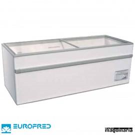 Arcón Congelador de tapa cristal corredera EFGAMMA150O de 493 L