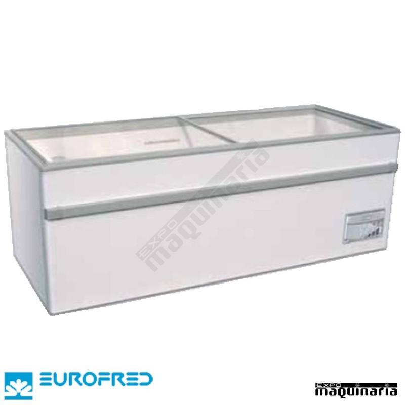 Arc n congelador de tapa cristal corredera efgamma150o de for Arcon congelador a