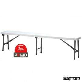 Banco de catering ZO SHARP BENCH (184 X 30.5 cm)