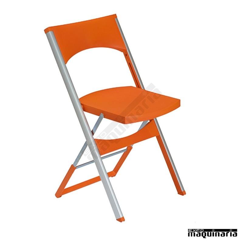 silla plegable lbcompacta aluminio y resina dise o