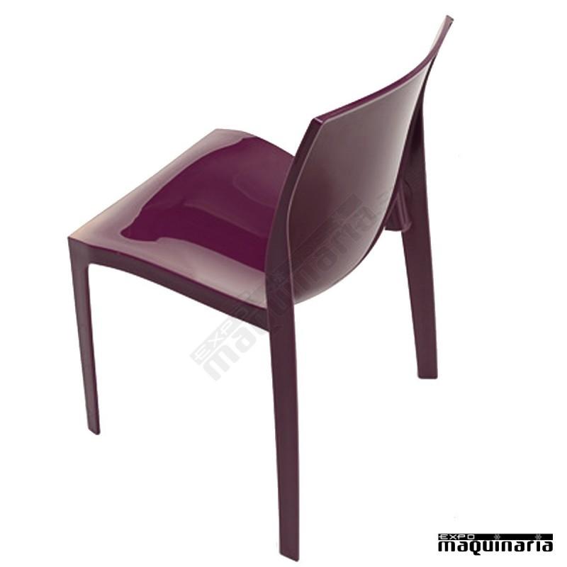 silla de exterior y terraza de pl stico apilable lbanna