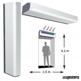 Cortina de aire ARPA4215E18 ambiente